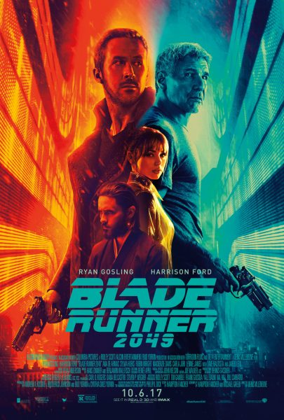 Promotional poster for Blade Runner 2049
