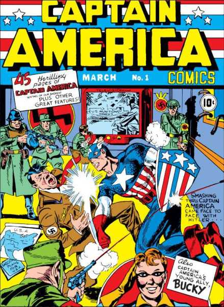 Cover of Captain America Comics #1