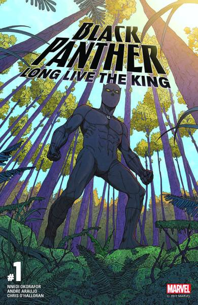 Black Panther: Long Live the King cover, comiXology.
