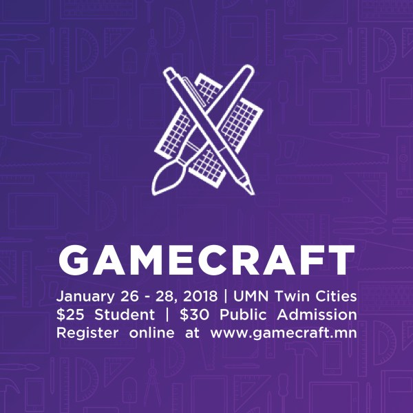 Gamecraft 2018 banner