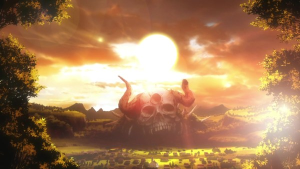 Background of Black Clover, Sunset