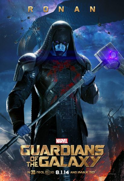Guardians of the Galaxy Ronan character poster