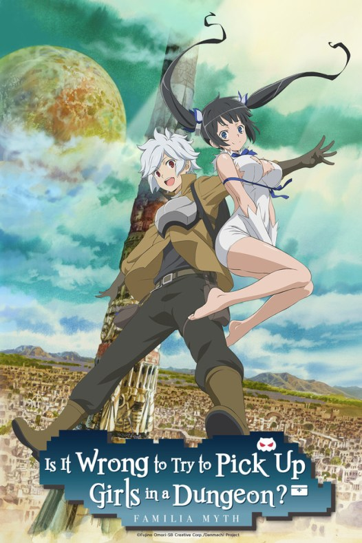 """Promo image for """"Is It Wrong to Try to Pick Up Girls in a Dungeon?"""""""