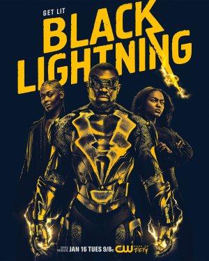 Black Lightning promotional poster