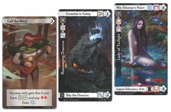 Gameplay cards