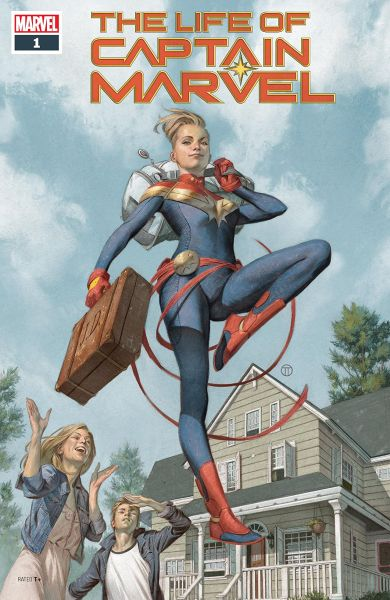 The Life of Captain Marvel cover