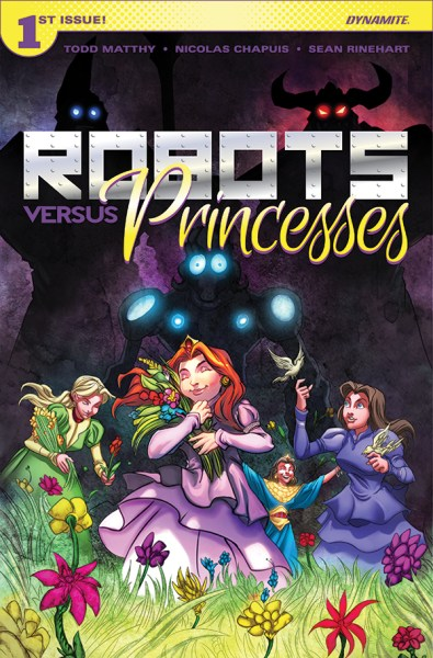 Robots versus Princesses cover
