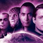 Sheridan, Dr Franklin, G'Kar, Garabaldi and Delenn appear