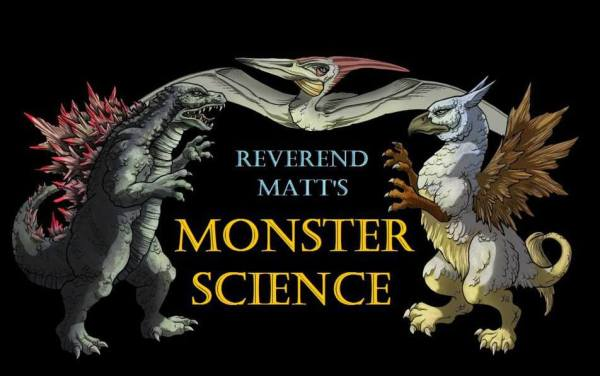 Reverend Matt's Monster Science logo