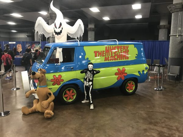 The Mystery Machine from Scooby Doo