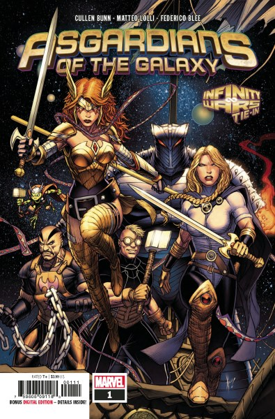 Cover of Asgardians of the Galaxy