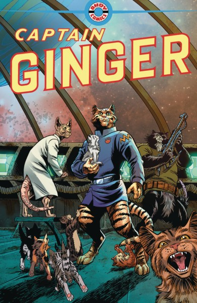 Cover of Captain Ginger #1