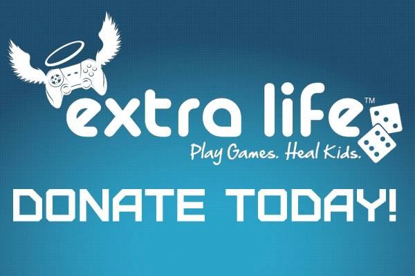 Extra Life: Donate Today!