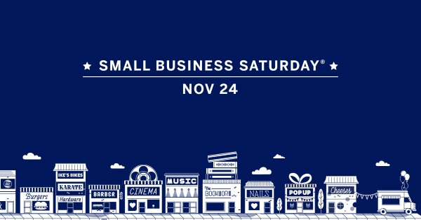 Small Business Saturday, November 24