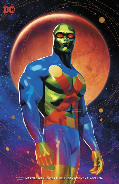 Cover of Martian Manhunter #1