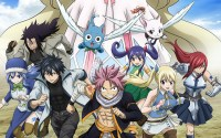characters of Fairytail running