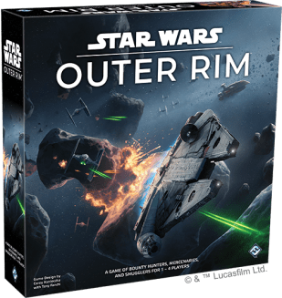 Star Wars: Outer Rim box art