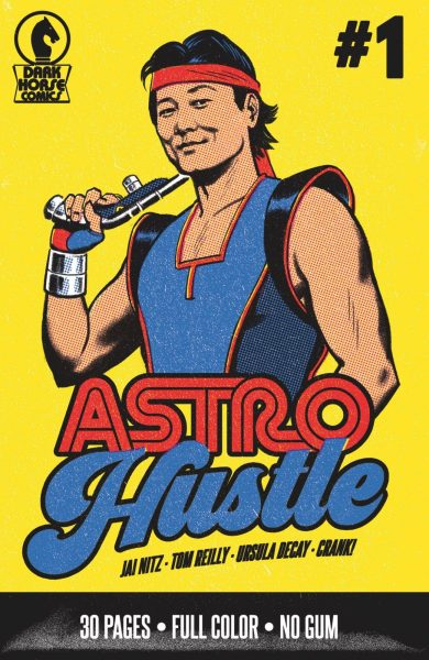 Astro Hustle alternate cover