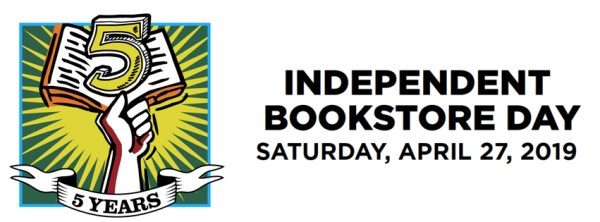 Independent Bookstore Day banner