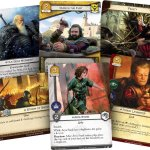 Cards from A Game of Thrones: The Card Game