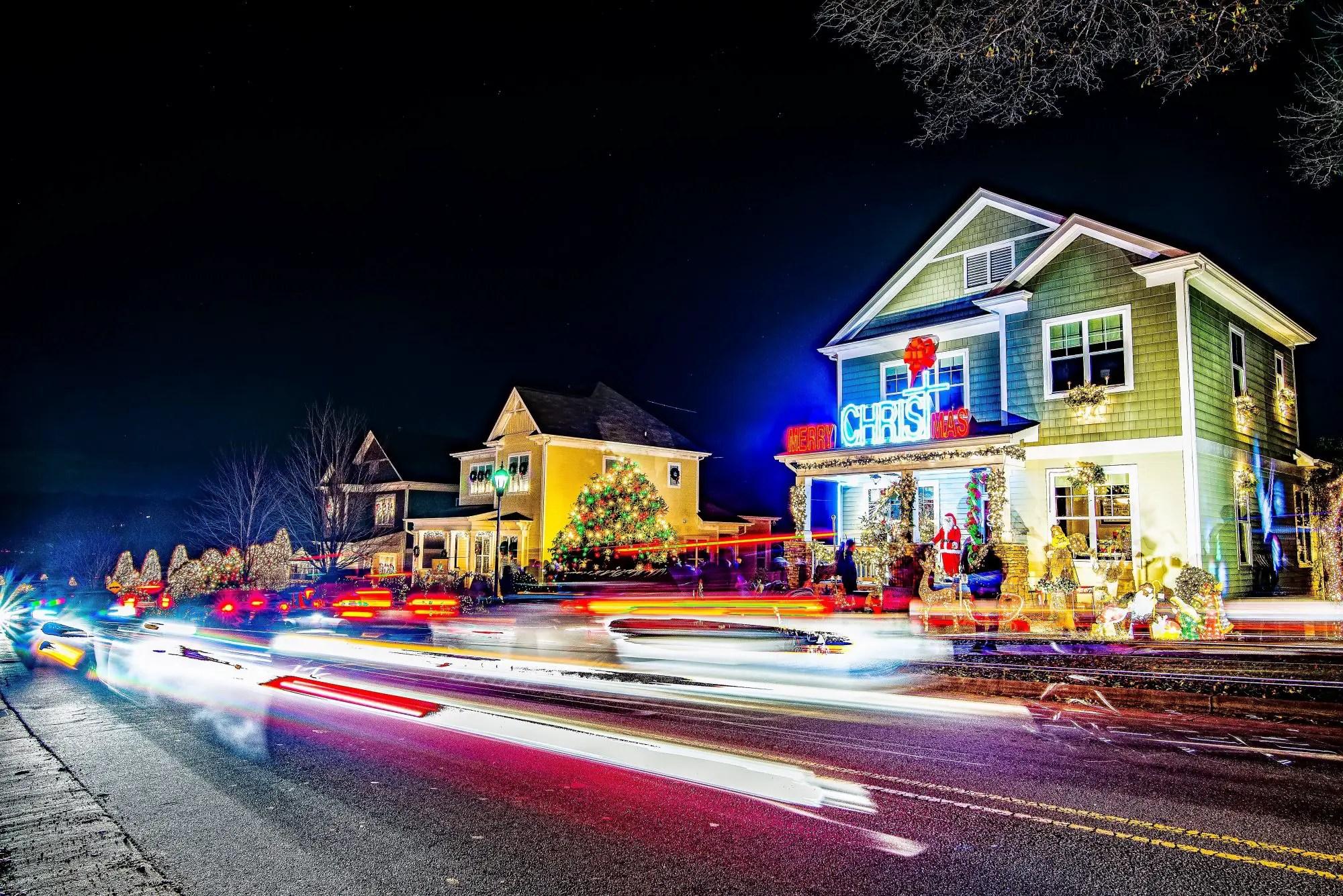 twin cities christmas lights tours list