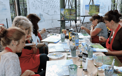 Paint & Sip Party – January 28, 2017