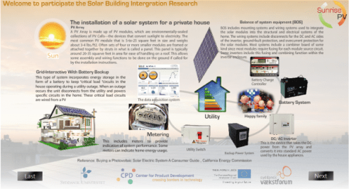 solar energy system user research