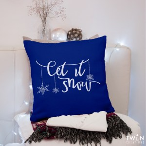 Let It Snow - Cushion Cover