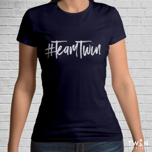 Team Twin T-Shirt Navy