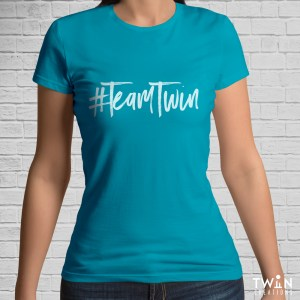 Team Twin T-Shirt Teal