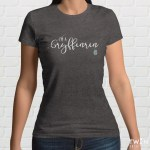 Gryffinrin Ladies T Shirt Grey