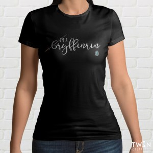 Gryffinrin Ladies T Shirt Black