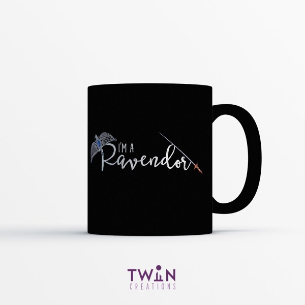 Ravendor Mug Black Satin