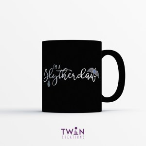 Slytherclaw Mug Black Satin