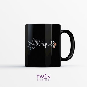 Slytherpuff Mug Black Gloss
