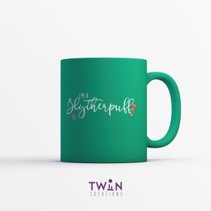 Slytherpuff Mug Green Satin