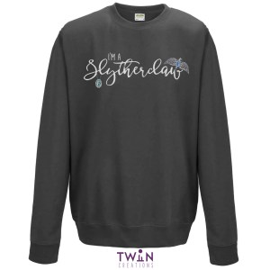 Slytherclaw Unisex Jumper Grey