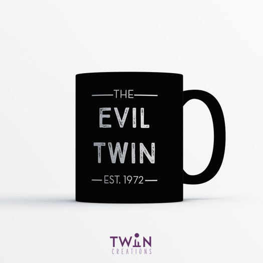 The Evil Twin Mug Blac