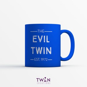 The Evil Twin Mug Blue