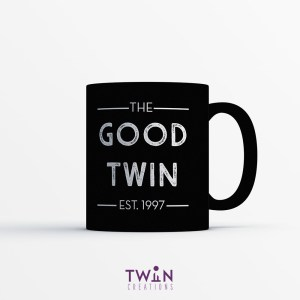 The Good Twin Mug Black