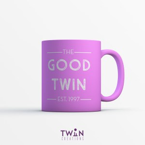 The Good Twin Mug Pink