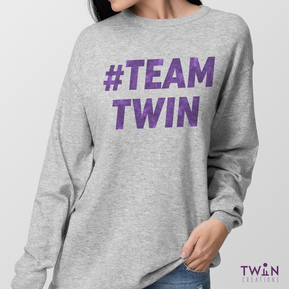TEAM TWIN Unisex Jumper 4G1LS4Pnc