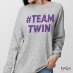 #TEAMTWIN Bold Jumper Ladies Feature