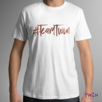 Team Twin Mens T-Shirt White