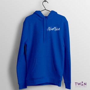 Team Twin Hoodie Small Design Royal