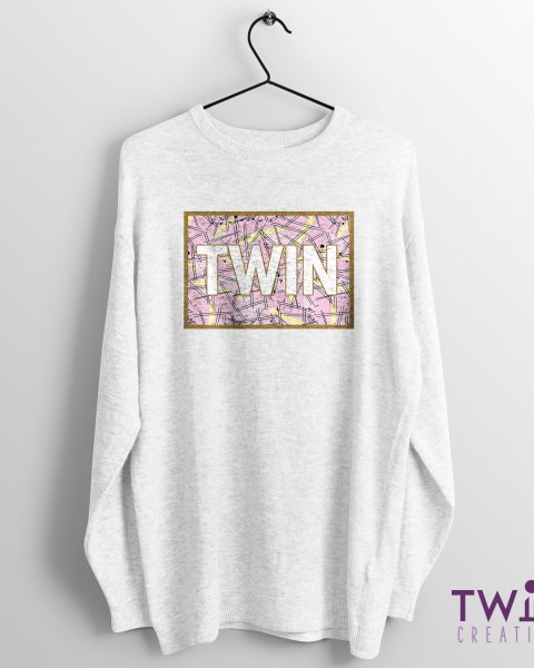 TWIN Jumper Splatter White