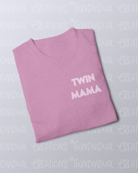 TC FOLDED JUMPER twin mama pink