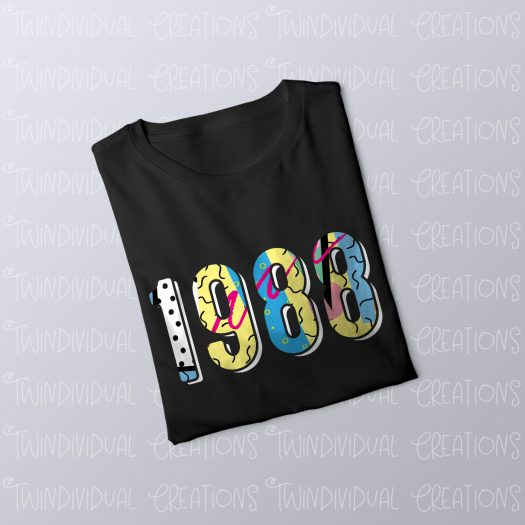 Personalised Year T-Shirt