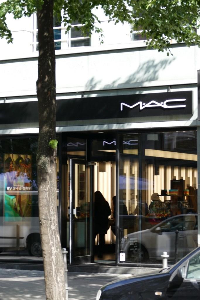 Frankfurt's MAC store