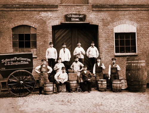 J.S. Douglas Fabrik, unknown photographer. Douglas was founded in 1821, imagine that!